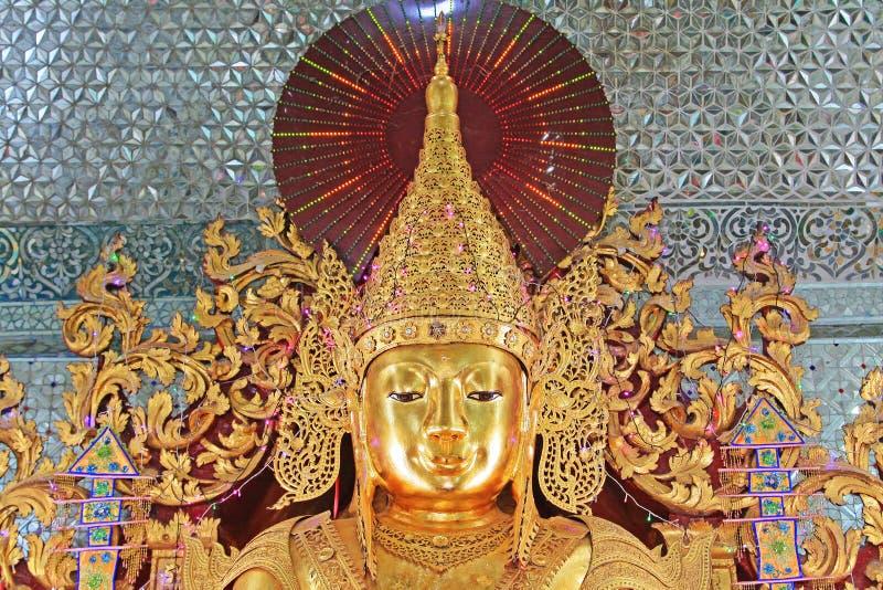 Sandamunipagode, Mandalay, Myanmar stock afbeelding