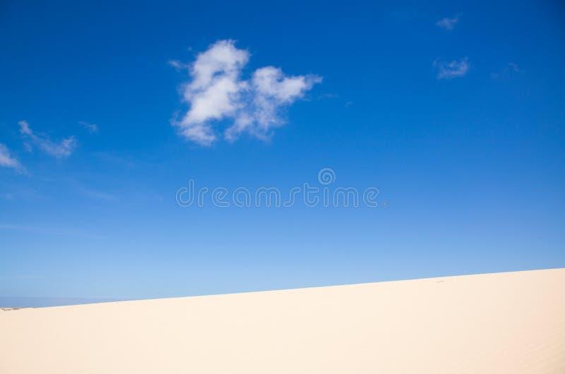 Sandauszug stockfotografie