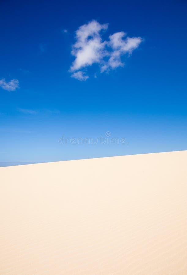 Sandauszug lizenzfreies stockbild