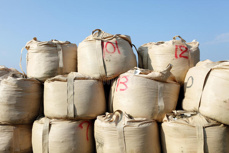 Download Sandbag stock image. Image of excavation, ground, heap - 17116591