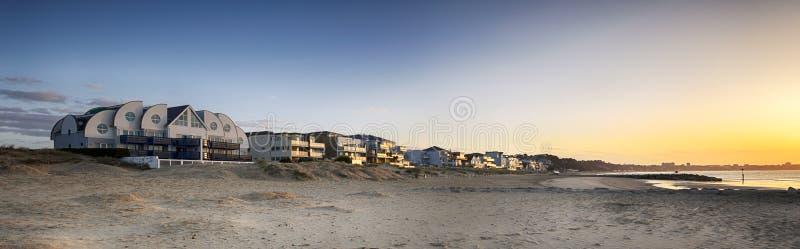 Sandbanken stockbilder