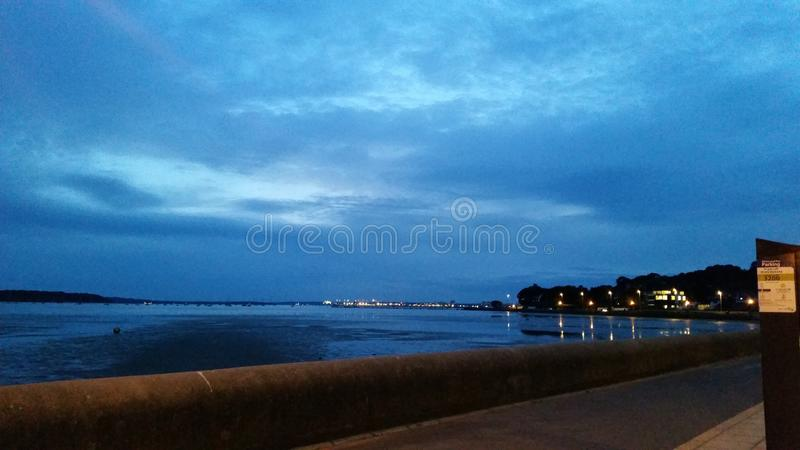 Download Sandbanks image stock. Image du ciel, nuit, bleu, sandbanks - 77163073