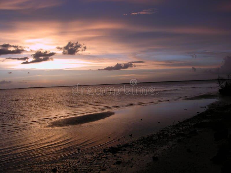 Sandbar Sunset stock photos