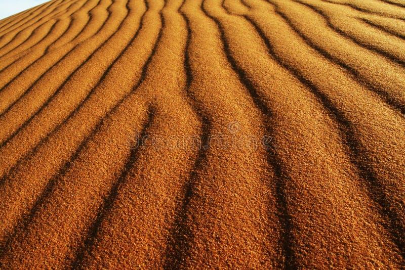 Sandbeschaffenheit in der Wüste lizenzfreies stockfoto