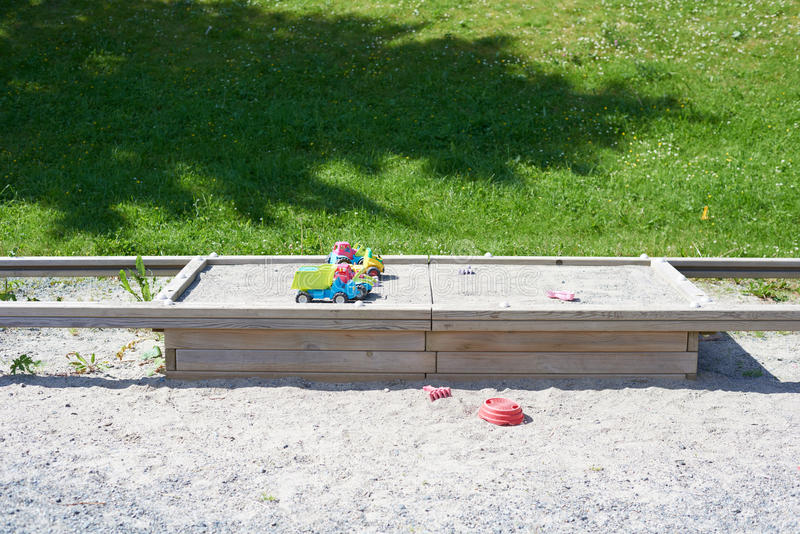 sandbox stock foto