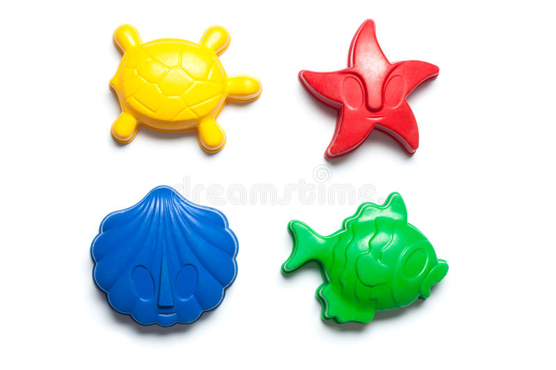 Download Sandbox Toy Forms In Colors Stock Photo - Image: 33865594