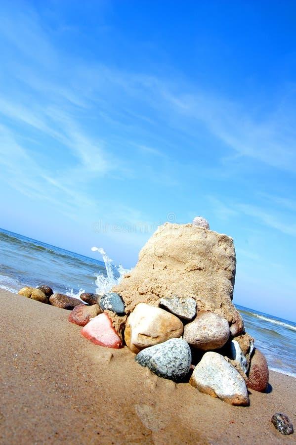 Download Sandbuilding imagen de archivo. Imagen de país, britain - 1286687