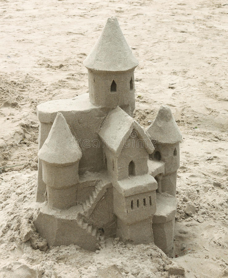 Free Sandcastle Royalty Free Stock Image - 14841296