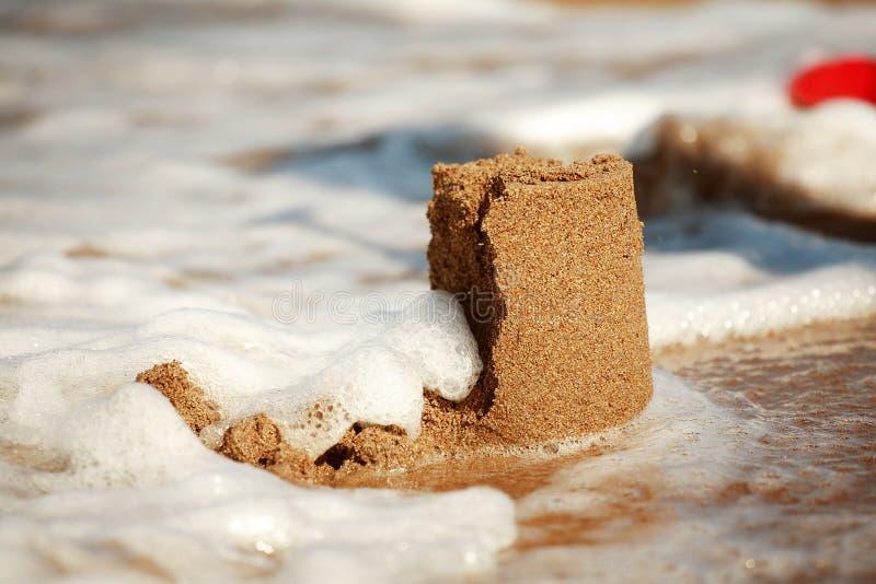 Sandcastle imagens de stock