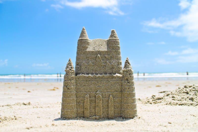 Sandcastle стоковое изображение