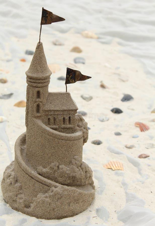 sandcastle стоковое фото rf