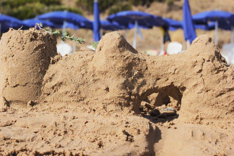 sandcastle imagen de archivo