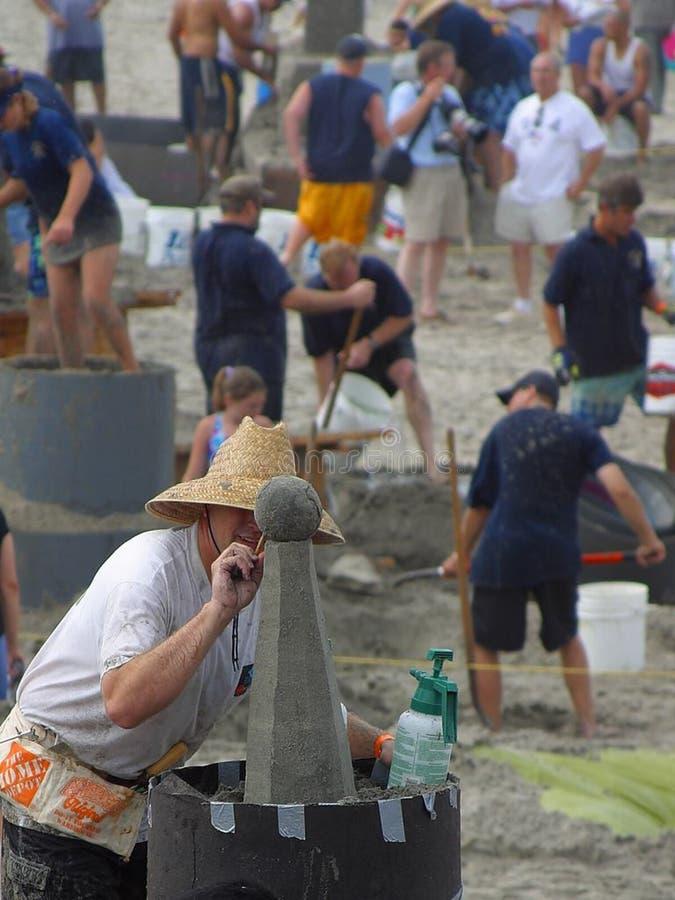 Чемпионат Sandcastle стоковые изображения rf