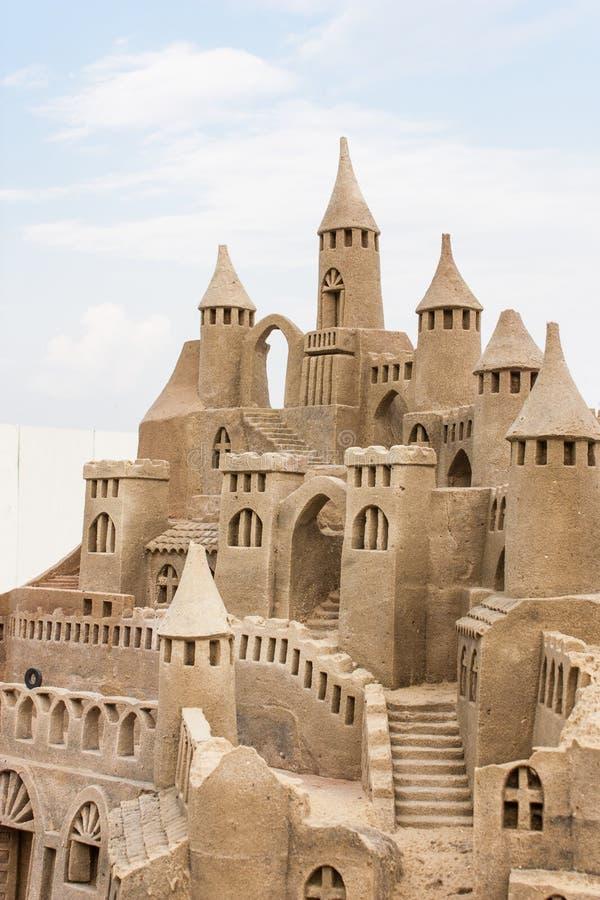 Download Sandcastle foto de stock. Imagem de costa, seashore, fortress - 29828406