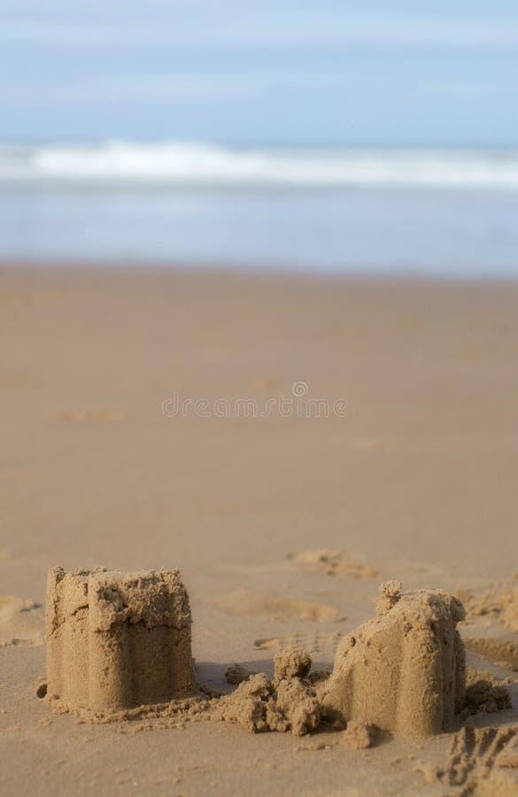 sandcastles στοκ εικόνες