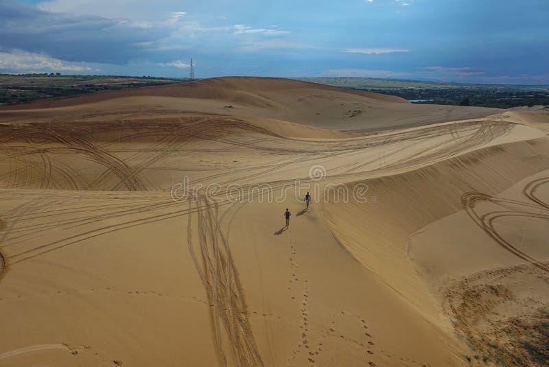 Sanddünen von Mui Ne, Vietnam lizenzfreie stockbilder