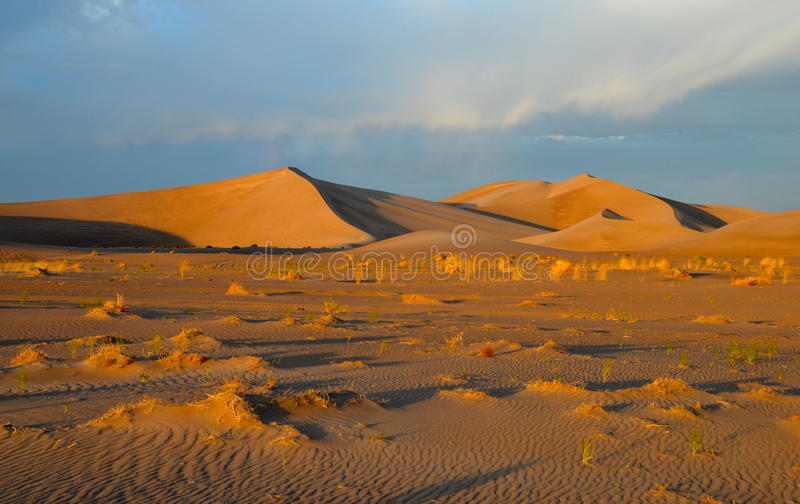 Sanddyner, Death Valley nationalpark, Kalifornien arkivbild