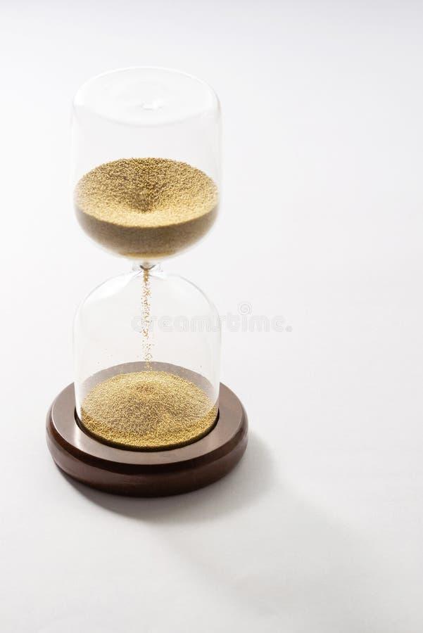 Sandexponeringsglas, tidbegrepp royaltyfri fotografi
