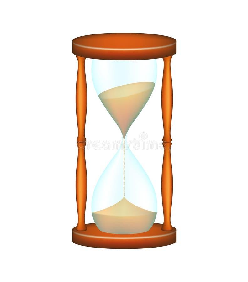 Sandglass ilustración del vector