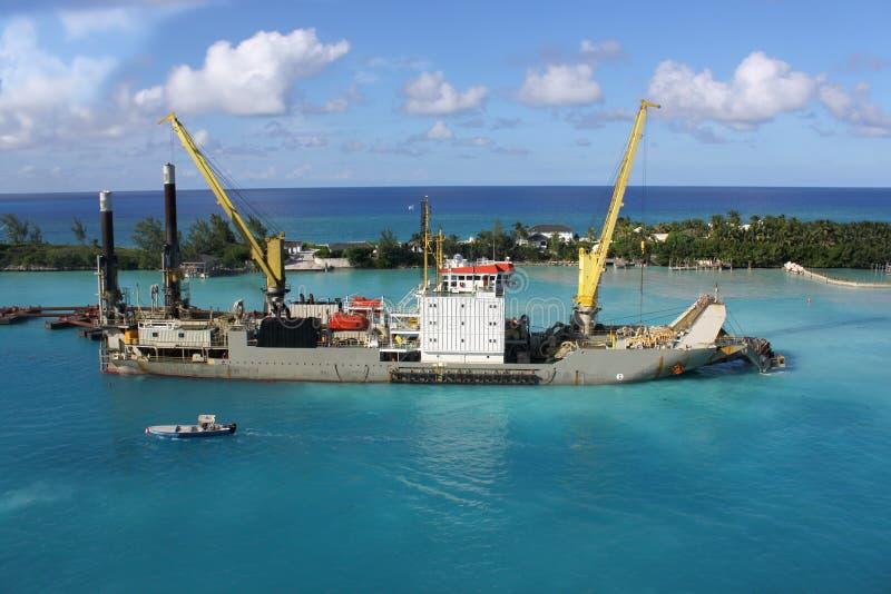 Sandgräber in Nassau stockfotografie