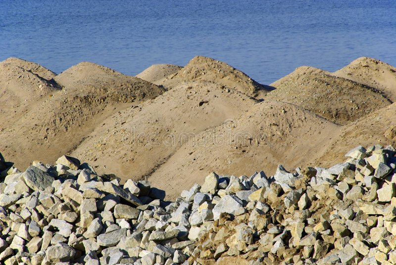 Sandheap 06 photo libre de droits