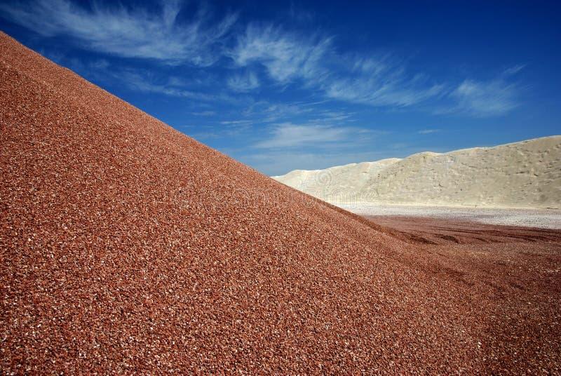 Download Sandheap stock foto. Afbeelding bestaande uit puin, kiezelzuur - 10778292