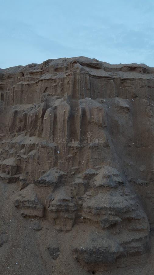 Sandhill himmel arkivbilder