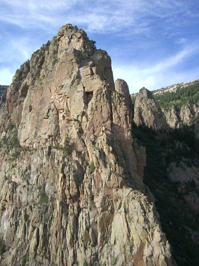 Sandia berg-Nieuw Mexico stock afbeeldingen