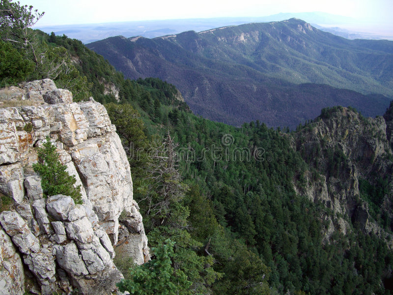 Sandia Peak Vista royalty free stock photos