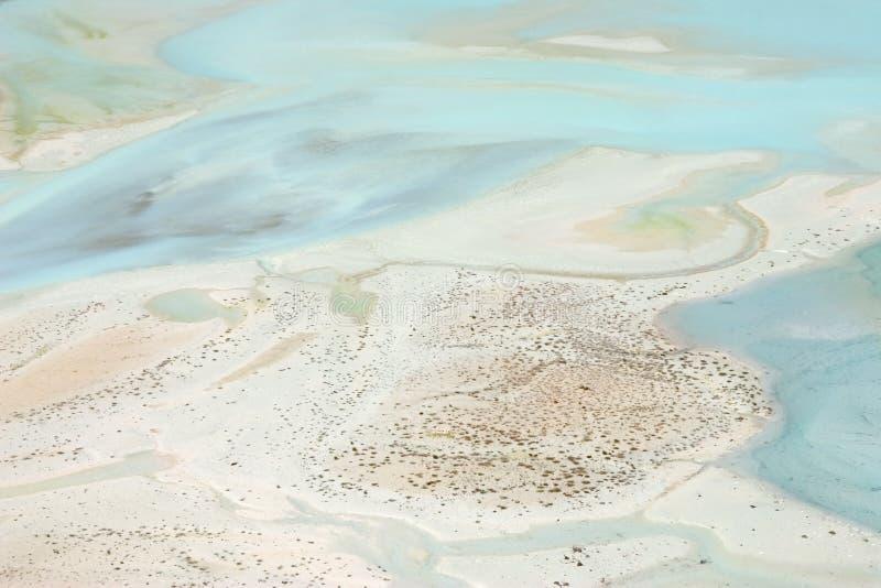 sandig lake arkivbild