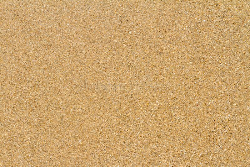 Sandig strand i sommar arkivfoto