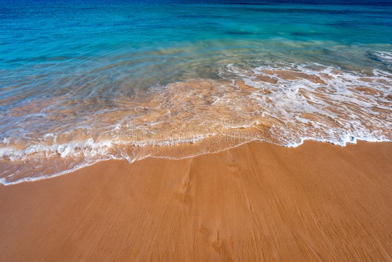Sandig strand i v?stra Australien royaltyfri bild