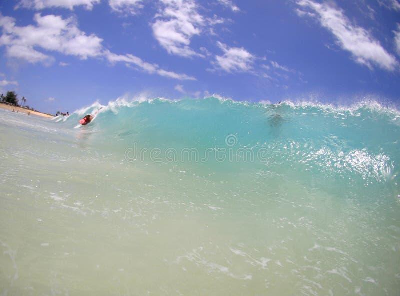 sandig wave för strand royaltyfri bild