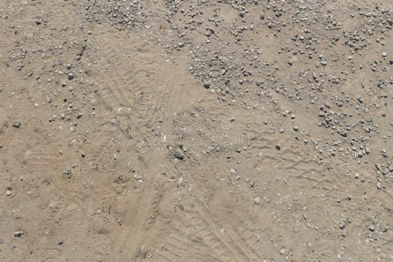 Sandigt golv royaltyfri bild