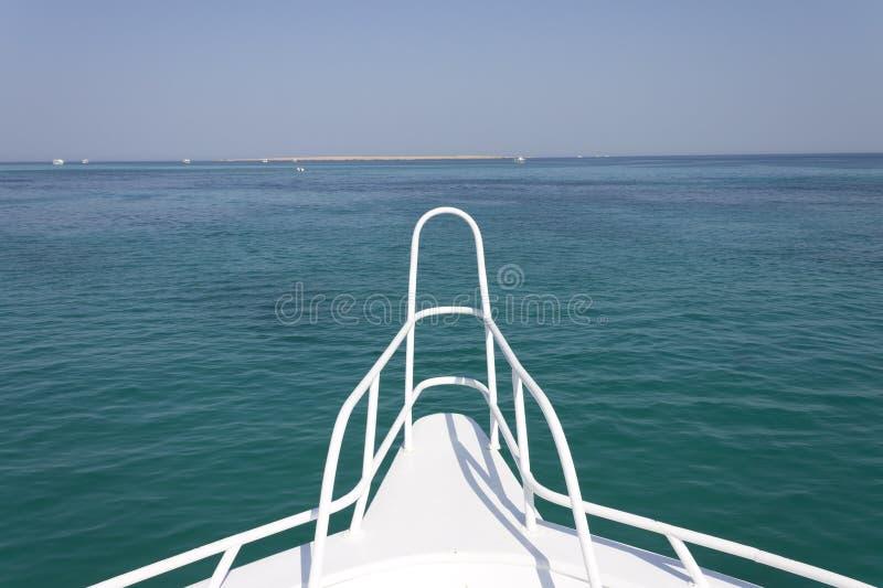 Download Sandinsel Und Horizont Vor Einer Lieferung Stockbild - Bild von nett, horizont: 26364047