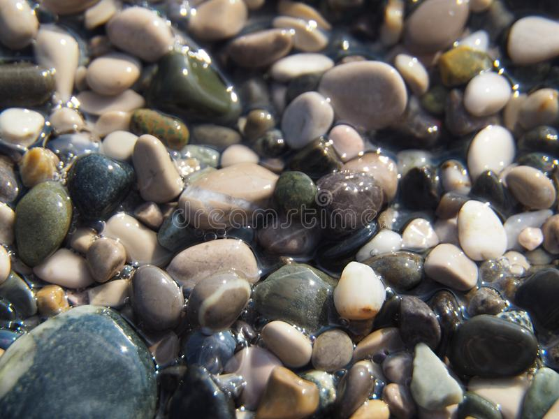 Sandkiselsten royaltyfria foton