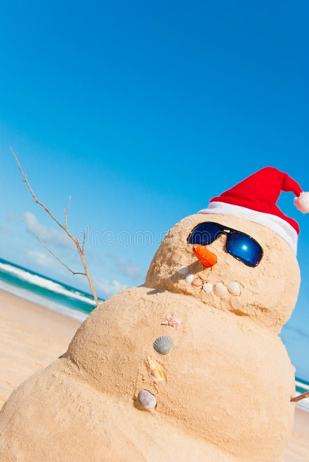 Free Sandman On Beach With Copyspace In Sky Stock Image - 20344971