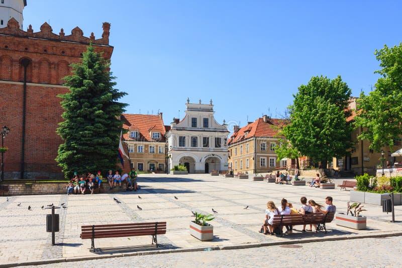 Sandomierz, Polen stockfoto