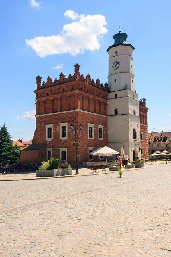 Sandomierz, Polonia fotografia stock libera da diritti