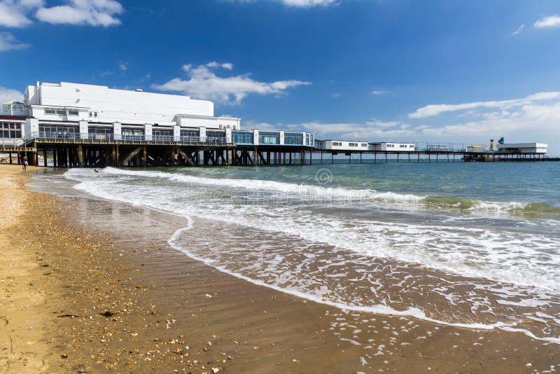 Sandown wyspa UK Wight Anglia obraz royalty free