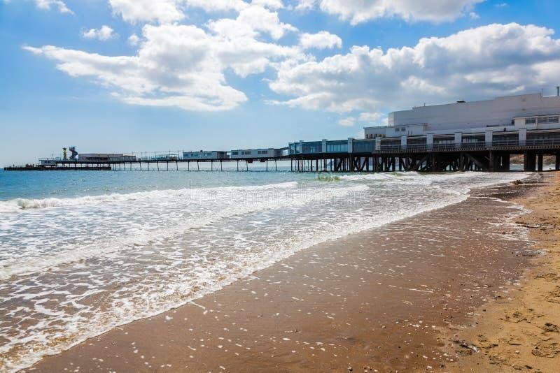 Sandown wyspa UK Wight Anglia zdjęcia royalty free