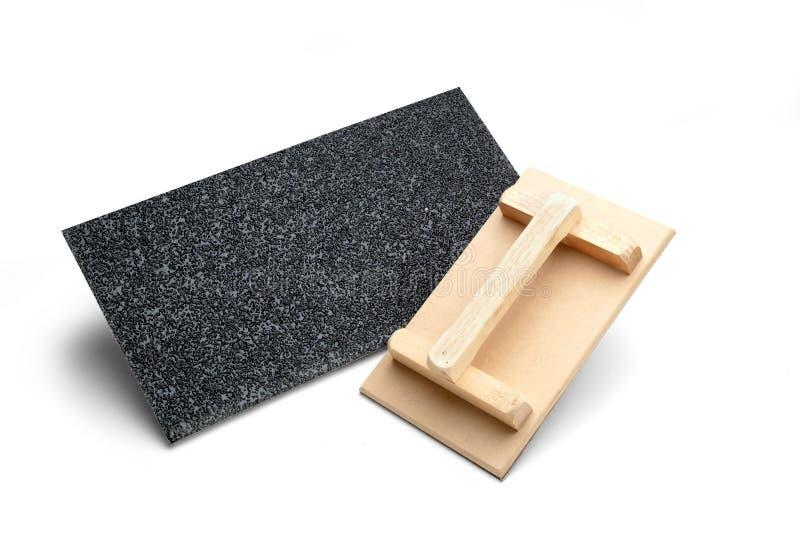 Sandpaper royalty free stock image