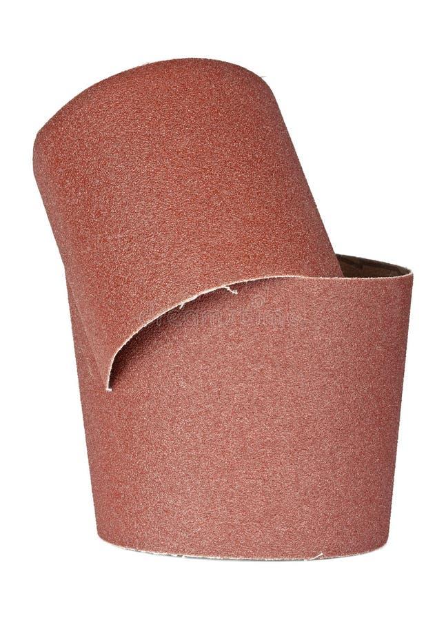 Sandpapper för din träverk royaltyfri fotografi