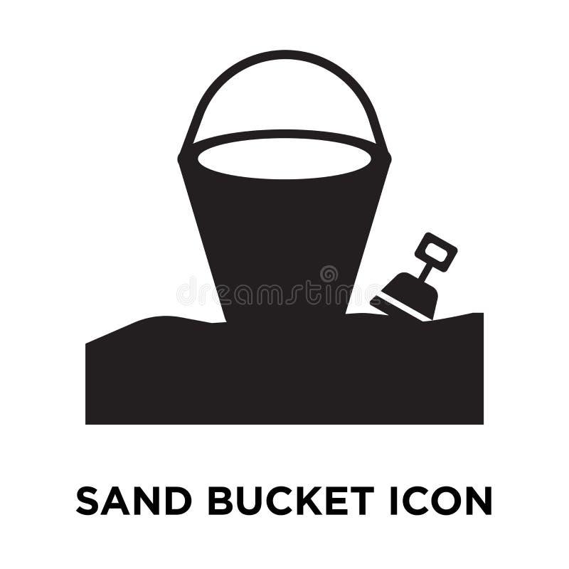 Sandpappra hinksymbolsvektorn som isoleras på vit bakgrund, logoconce royaltyfri illustrationer