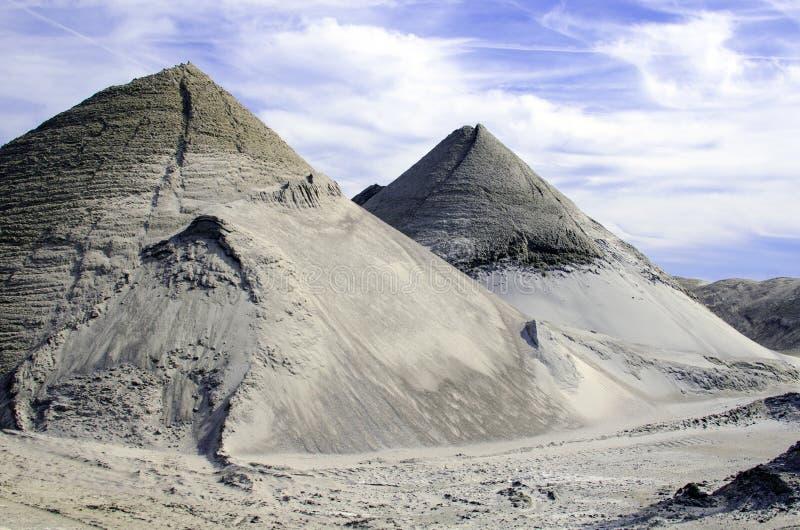 Sandpiles стоковые фотографии rf