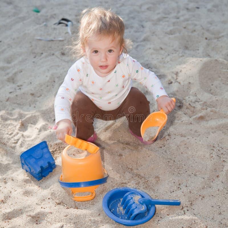 sandpit fotografia stock