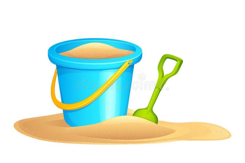 Sandpit ilustración del vector