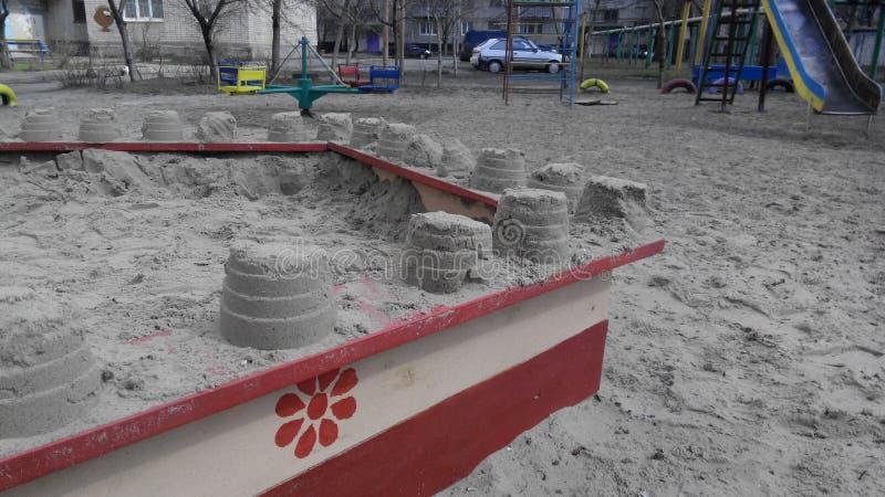 Sandpit stock photos