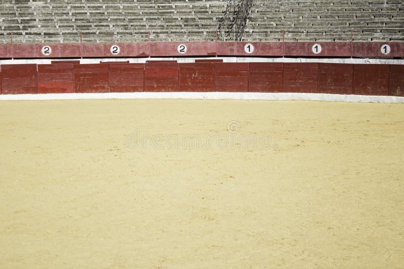Sandplatz toros lizenzfreie stockfotografie