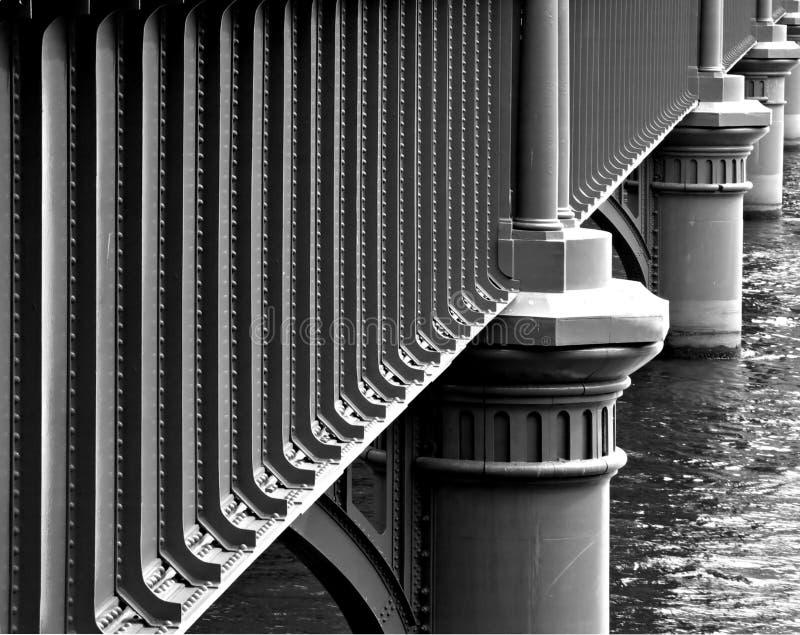 sandridge рельса моста стоковая фотография rf